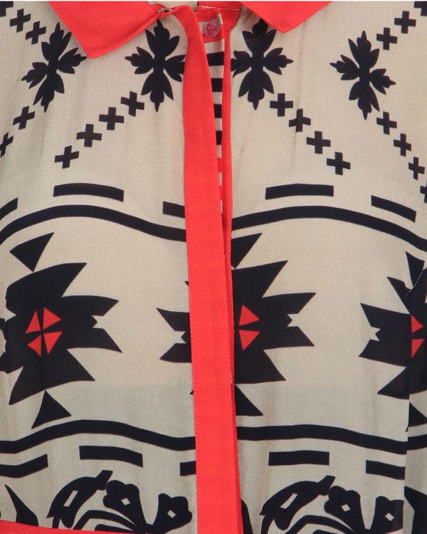 Coral striper jumpsuit 2