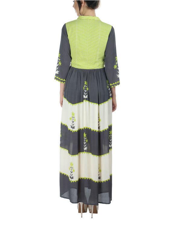 Charcoal shirt dress 1