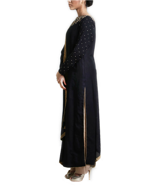 Black kurta set with dupatta 2
