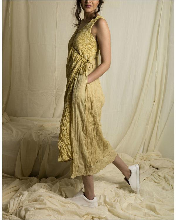 Fawn lapel dress 1