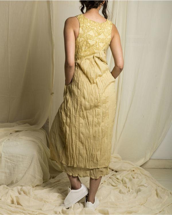 Fawn lapel dress 2
