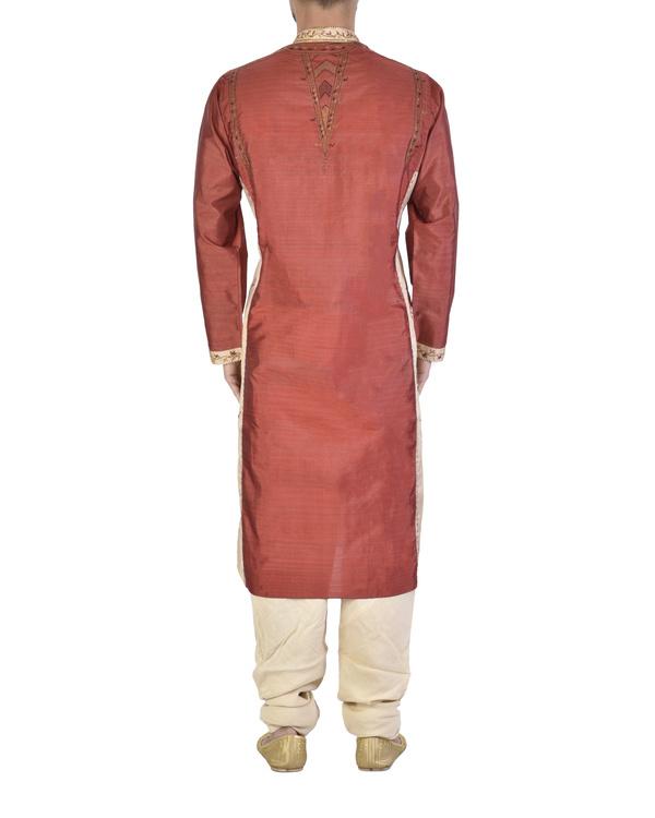 Pure silk sherwani 1