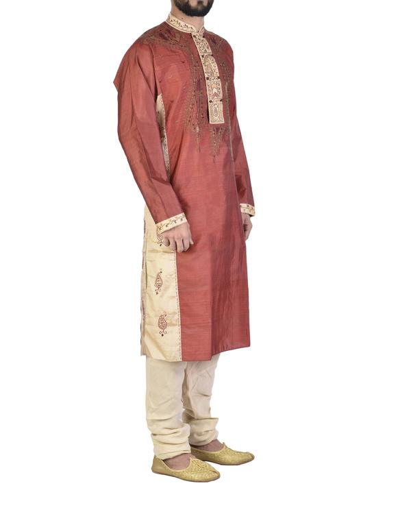 Pure silk sherwani 2
