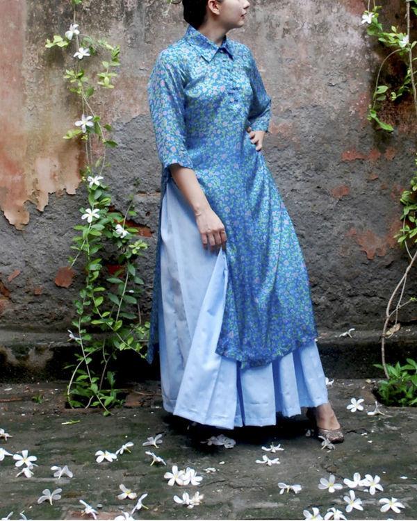 Vintage chintz silk kurta 2