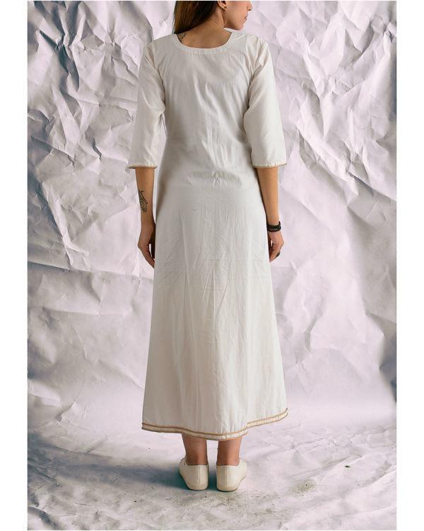 Angrakha white dress 1