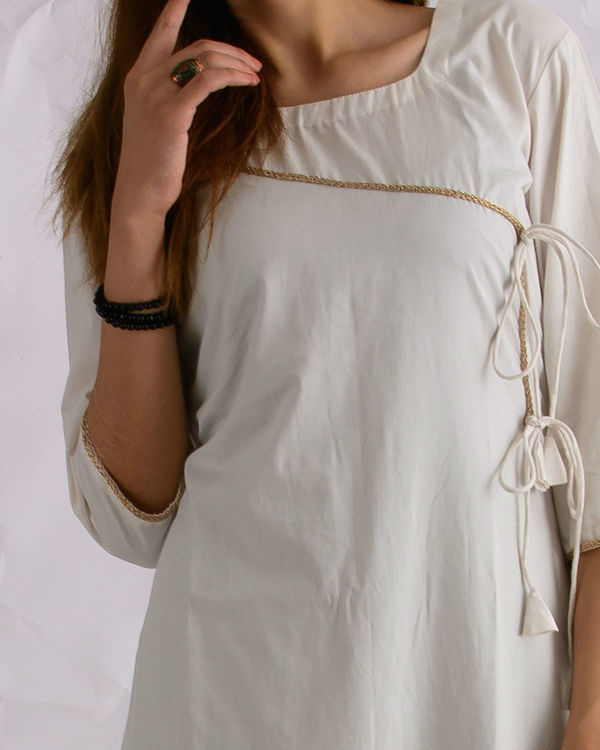 Angrakha white dress 2