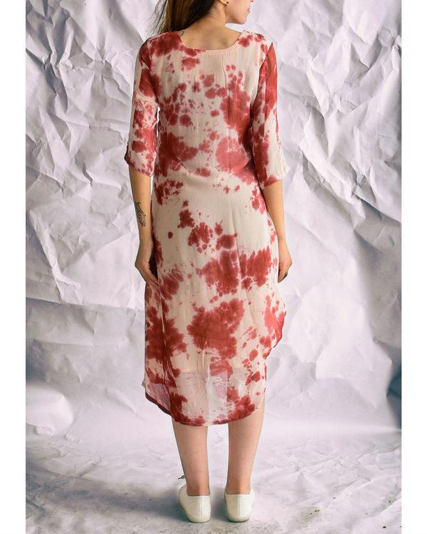 Marsala knot dress 1