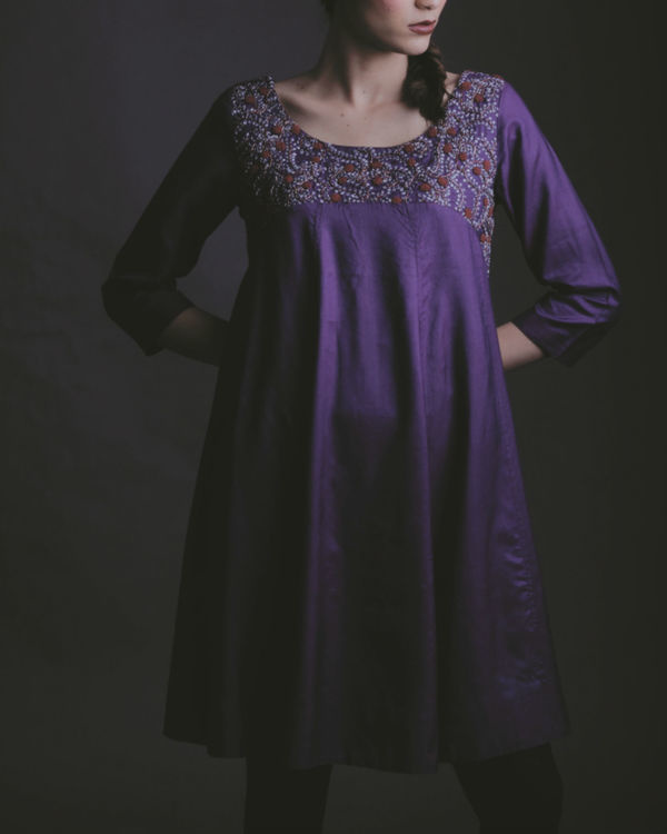 Likho purple dress 1