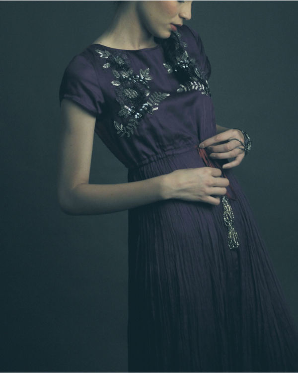 Lyla purple dress 1