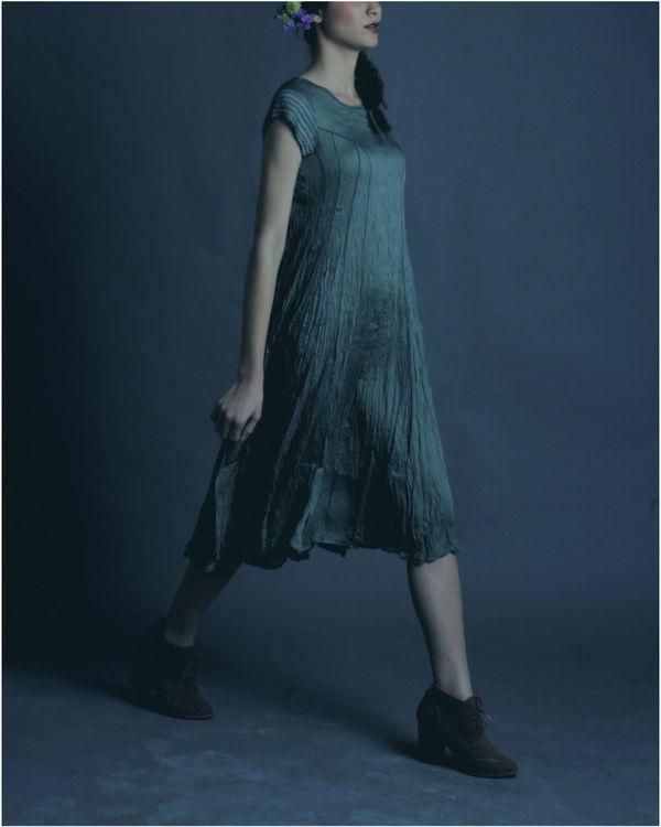 Zaria sage dress 1