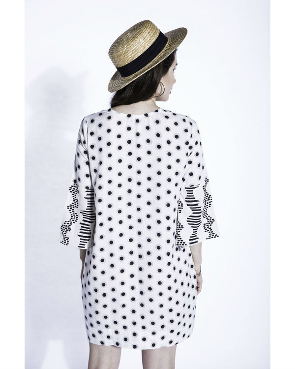 Shiro dots shift dress 1