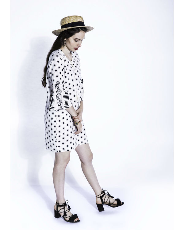 Shiro dots shift dress 2