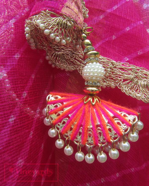 Pink regal elegance saree 1