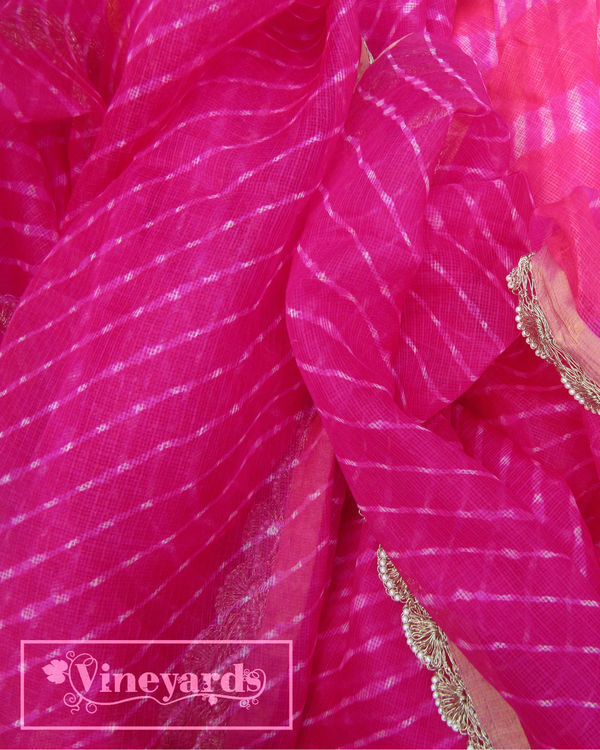 Pink regal elegance saree 2