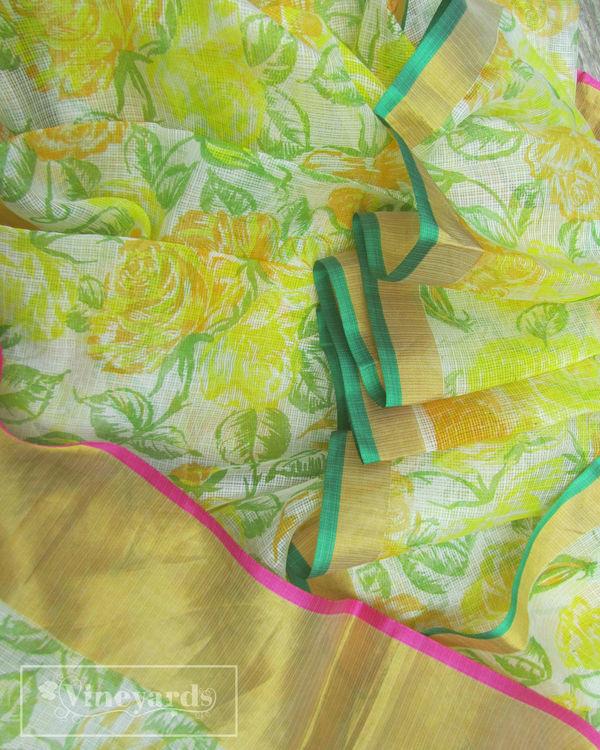 Spring allure saree 1