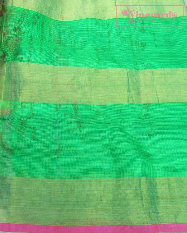 Old rose saree 2