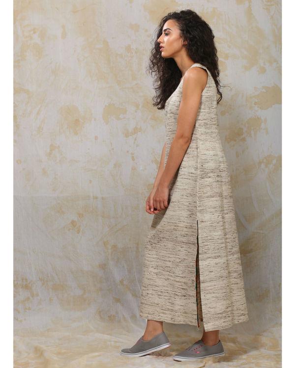 Khadi slit dress 1