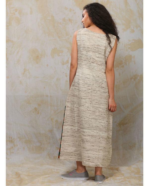 Khadi slit dress 2
