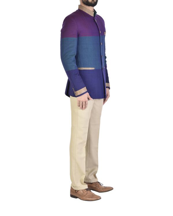 Narayanpet cotton bandgala jacket 2