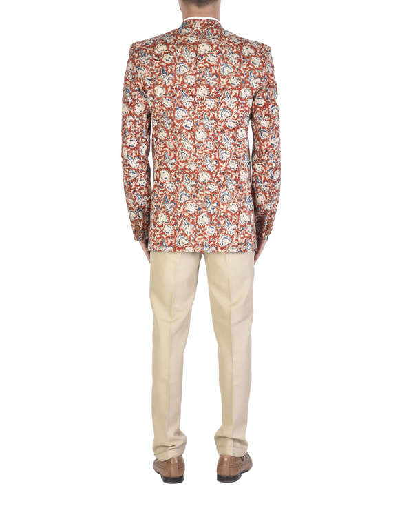 Kalamkari cotton blazer 1