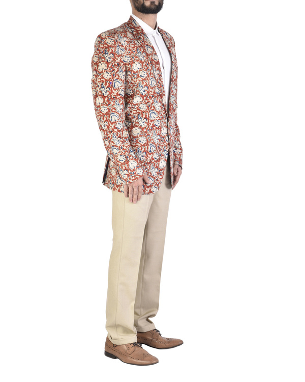 Kalamkari cotton blazer 2