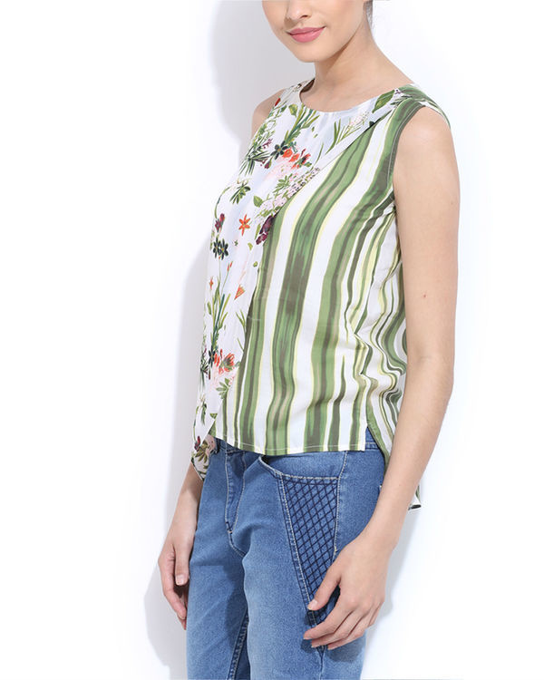 Floral layered  top 2
