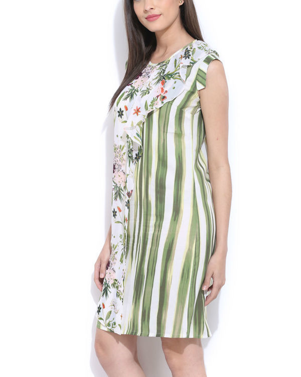 Floral layered dress 2