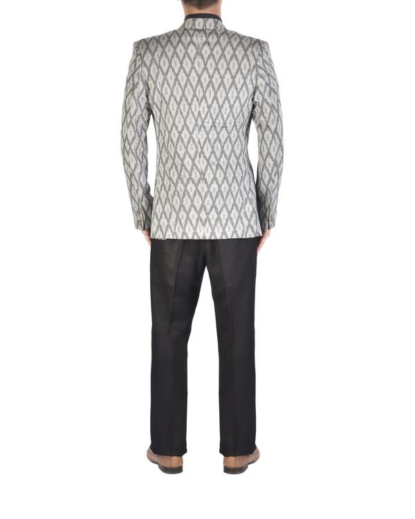 Grey ikat jacket 1