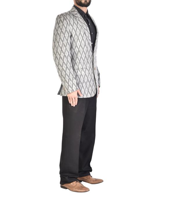 Grey ikat jacket 2