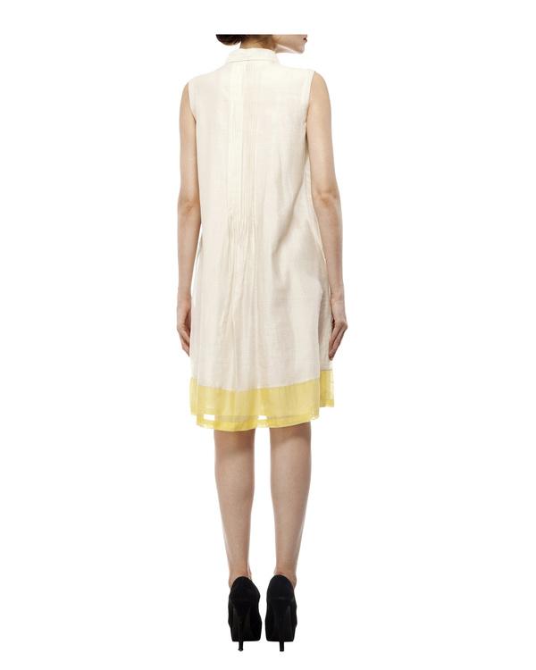 3d floral applique shirt dress 2