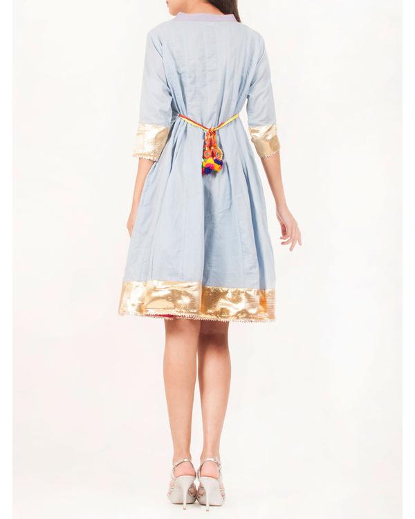 Blue gota patti dress 2