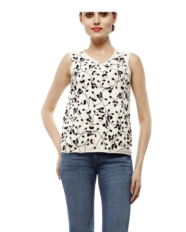 Cotton applique top 5