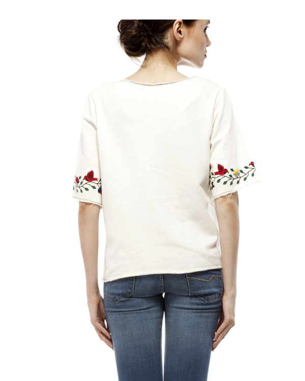 White applique top 2