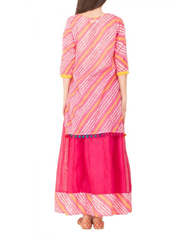 Rani pink skirt set 1