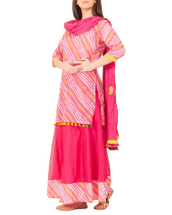 Rani pink skirt set 2