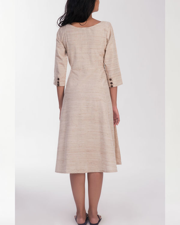 Susan beige dress 1