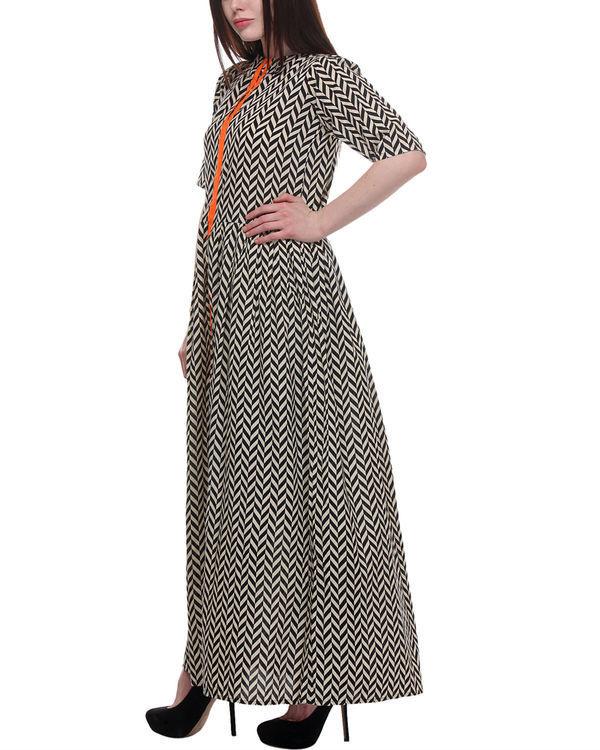 Chevron maxi dress 1
