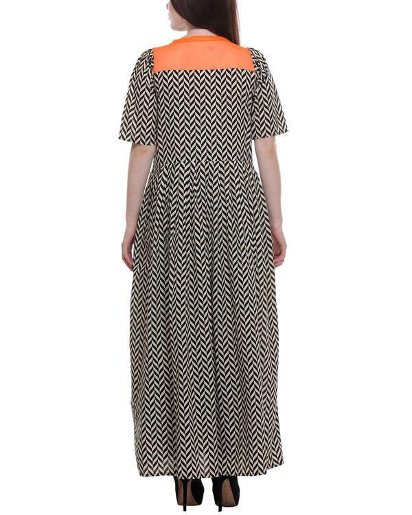 Chevron maxi dress 2