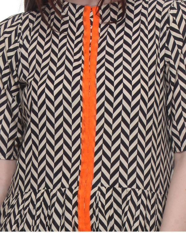 Chevron maxi dress 3