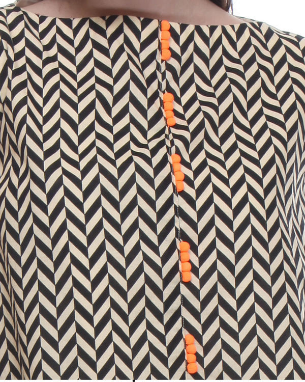 Double layered chevron tunic 3