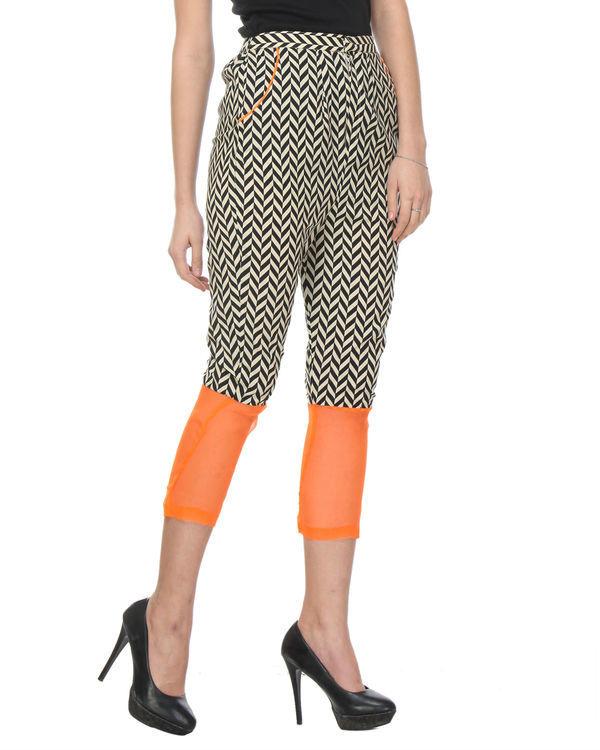 Chevron orange trouser 2