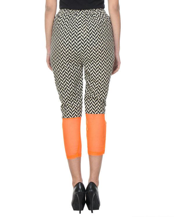 Chevron orange trouser 3