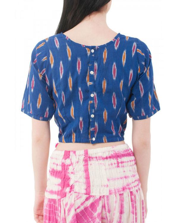 Ikat neelo blouse 1