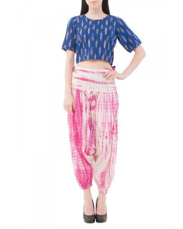 Ikat neelo blouse 2