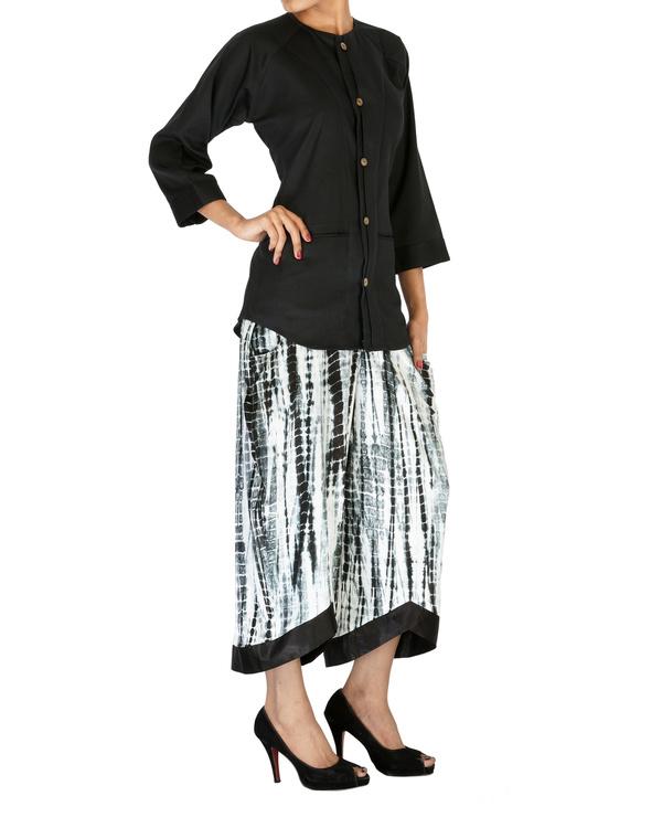Tie & dye culotte pants 2