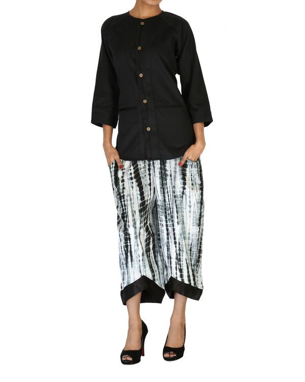 Tie & dye culotte pants 3