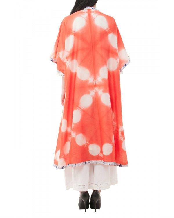 Mossaic shibori coverup jacket 2