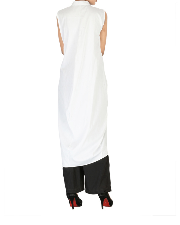 White cotton kurta 1