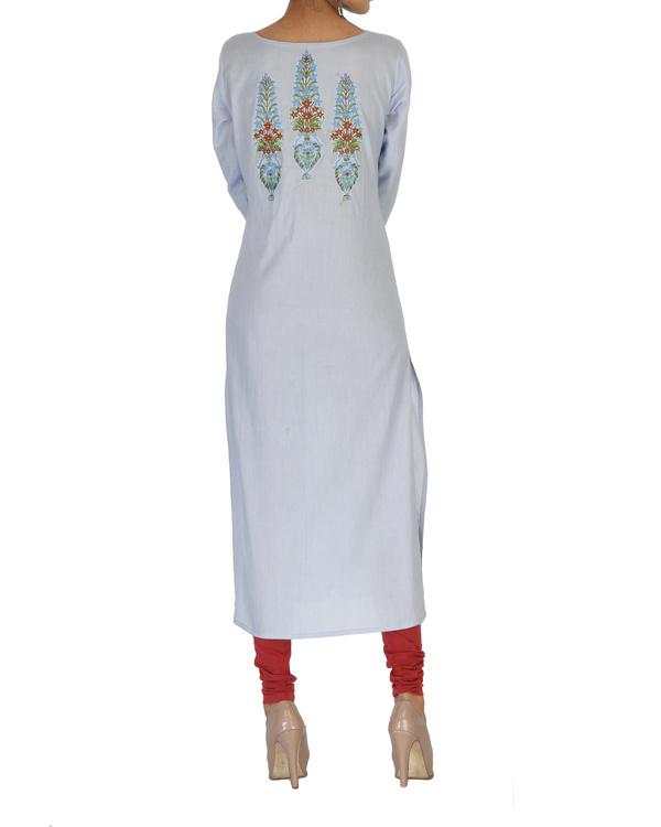 Cotton embroidered kurta 1