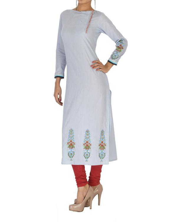 Cotton embroidered kurta 2